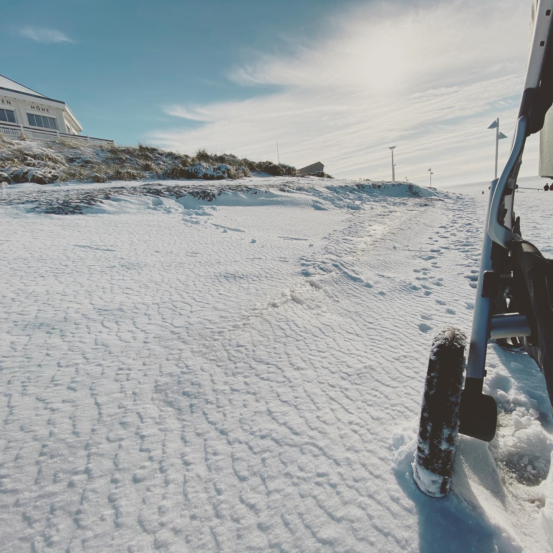 #norderney #ohneschlitten #winter #uppababyvista